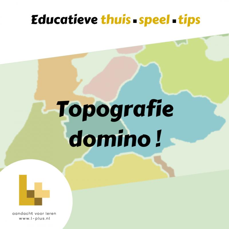 Topografie Nederland L+ Lieke Sleper
