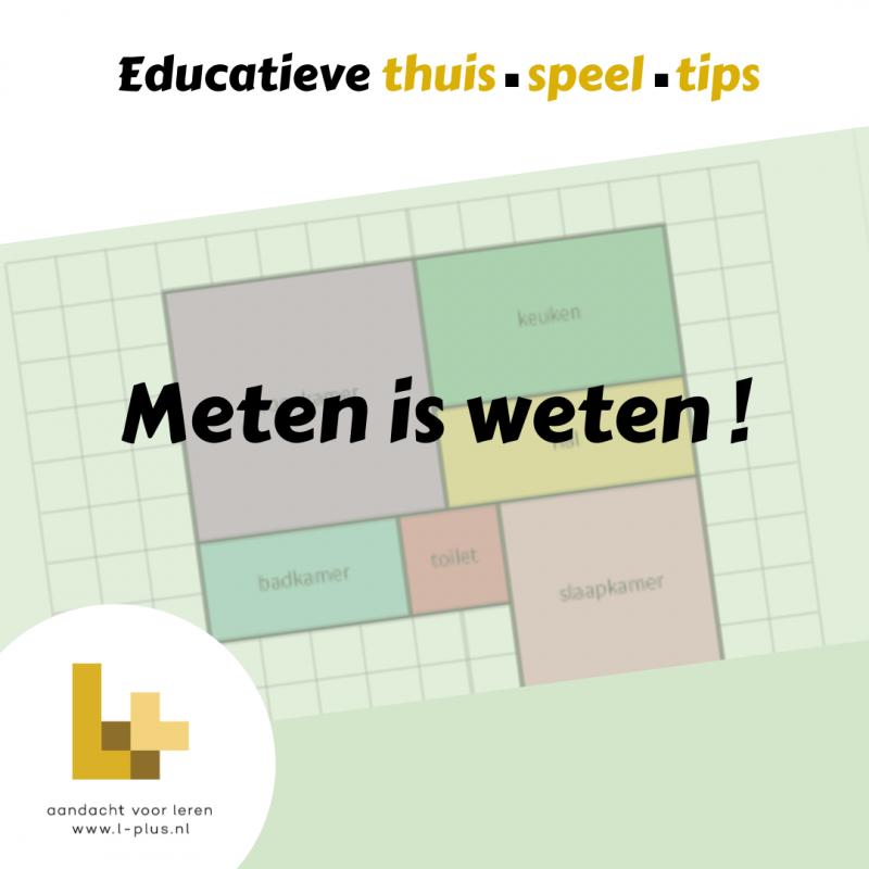 educatieve thuis speel tips L+ LIeke SleperMeten is weten