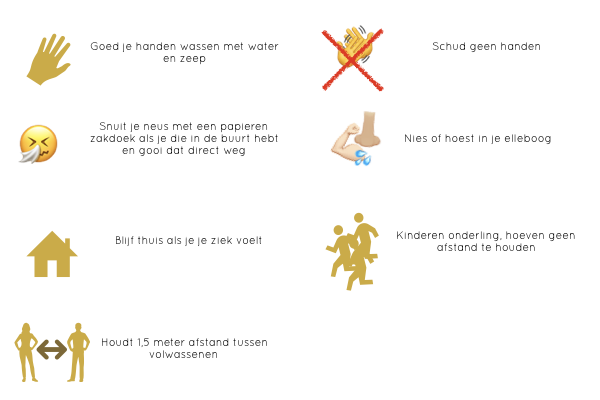 Corona regels L+ herstart na lock down. L-plus.nl Lieke Sleper